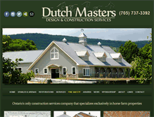 Tablet Preview of dutchmasters.on.ca