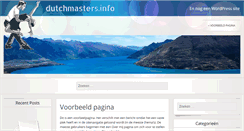Preview of dutchmasters.info